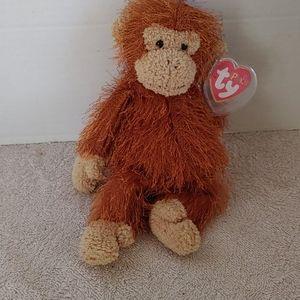 Ty beanie baby zig-zag the monkey. Punkies